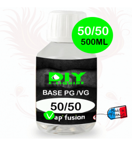 Base PG/VG 50/50 500ml by Vap'fusion