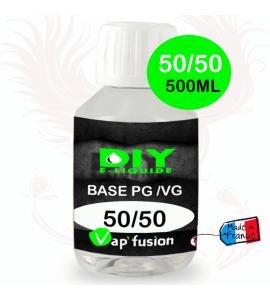Base pg/vg 50-50 500ml by Vap'fusion