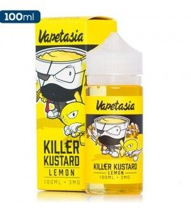 E liquide killer kustard Lemon 100ml vapetasia