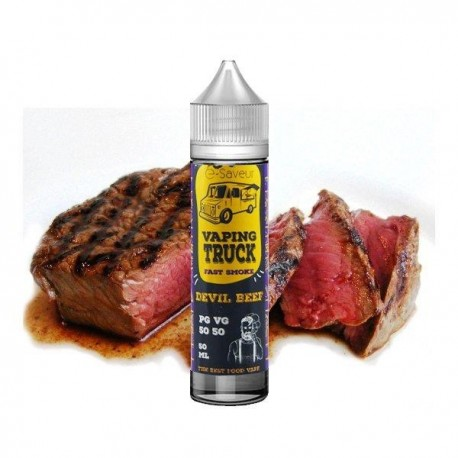 Vaping truck- pizza-50ml-e-saveur