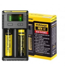 Chargeur accus nitecore new i2