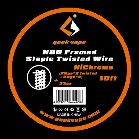 N80 Framed Staple Twisted Wire par Geek Vape