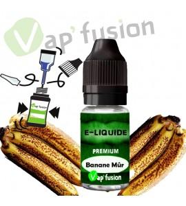 E liquide banane mûr 10ml Vapfusion