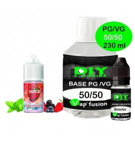 Pack base DIY facile e liquide Red Juice 230 ml Vap'fusion