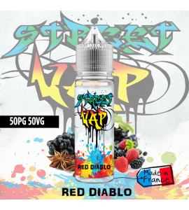 Eliquide RED DIABLO 50ml street vap