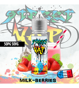 E liquide Milk-berries - 50ml - Street Vap
